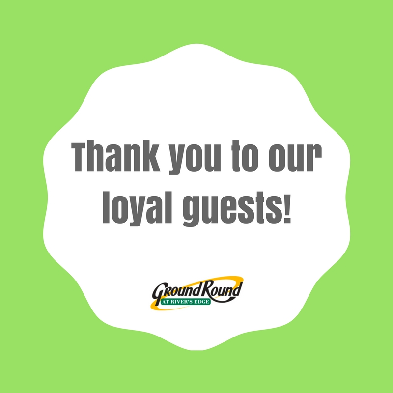 Thank you to our loyal guests! copy