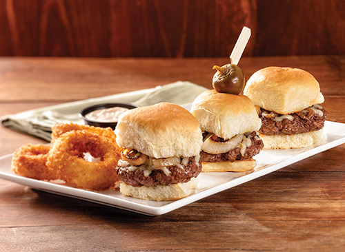 BURGER SLIDERS*