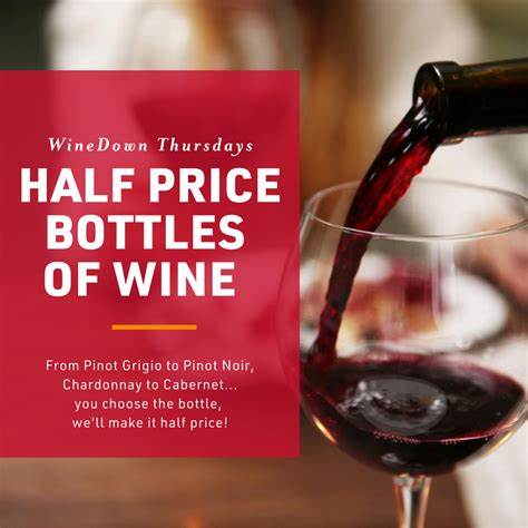 Half Price Wine Bottles