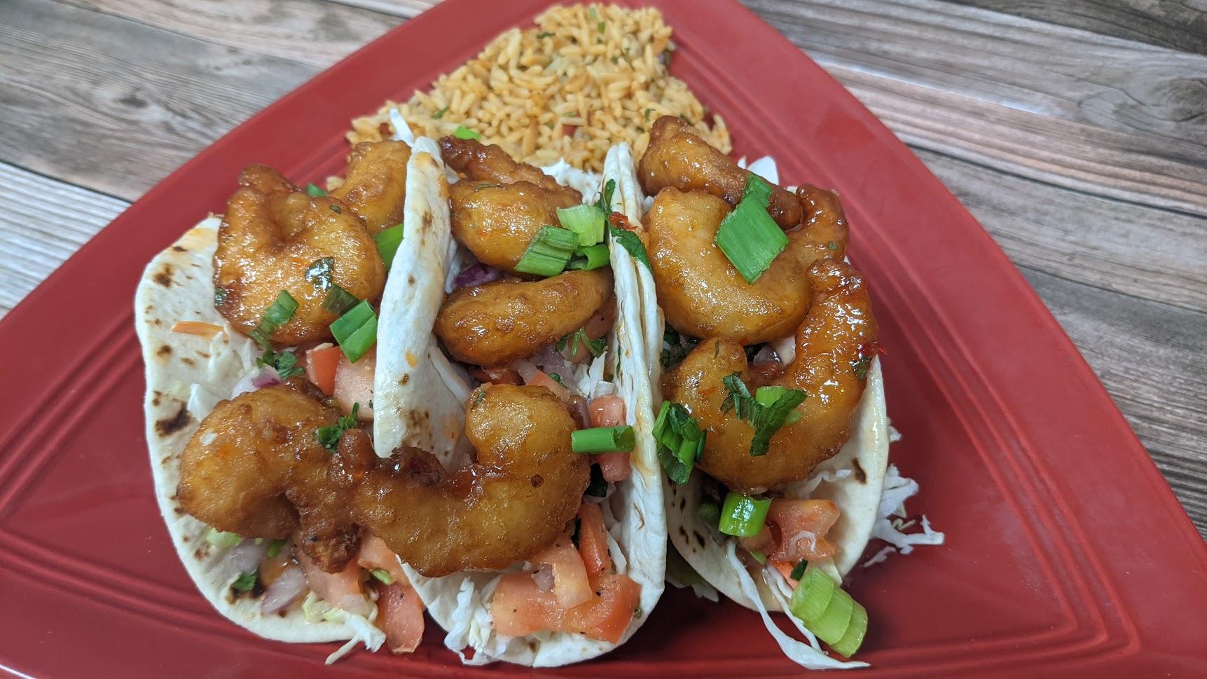 Angry Shrimp Tacos