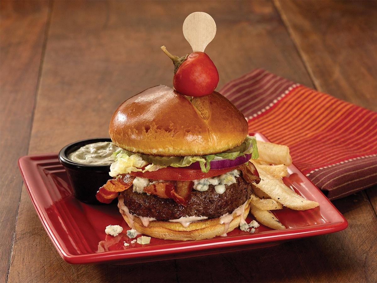 Avocado Ranch Bison Burger*