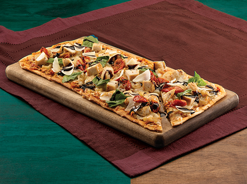 CHICKEN CAPRESE FLATBREAD