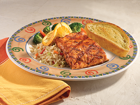 ORANGE GRILLED SALMON