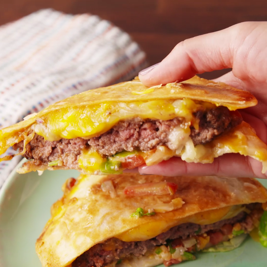 BIG DADDY QUESADILLA BURGER*