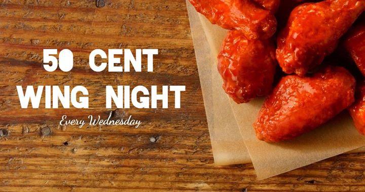 50 Cent Wing Night
